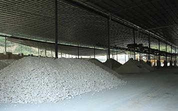 玮石矿业生产设备基地