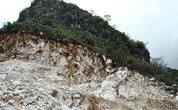 玮石矿业的生产基地