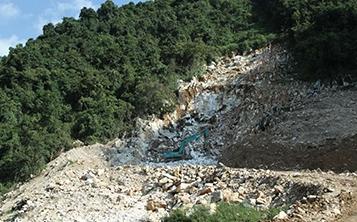 玮石矿业基地