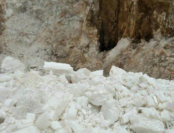 广西重钙方解石原矿
